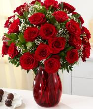 Mini red roses bouquet