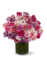 Multi sweetheart roses