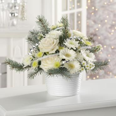Glacial white bouquet