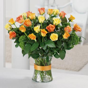 Gold \'N\' Rosy bouquet