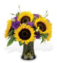 Sunflower stunner bouquet